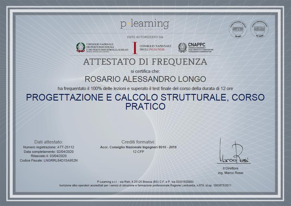 Progettazione e calcolo strutturale - corso pratico
